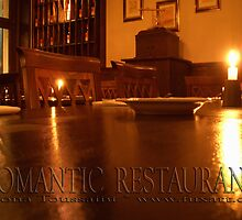ROMANTIC RESTAURANT by fuxart