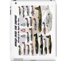 Wings over the Empire  iPad Case/Skin