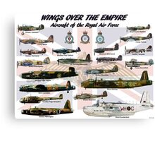 Wings over the Empire  Canvas Print