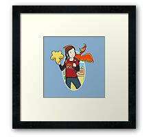 Ellie & Kazooie going on an Adventure. Framed Print