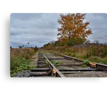 Way On Down The Line Canvas Print