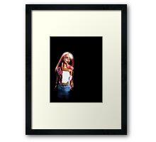 My Plastic Diva Framed Print