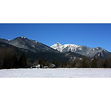 Cascade Mountain Landscape Four Photographic Print