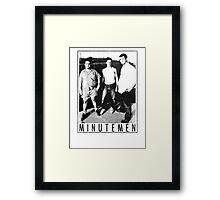 Minutemen - Light Shirts/Totes/Stickers/Pillows! Framed Print