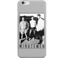 Minutemen - Light Shirts/Totes/Stickers/Pillows! iPhone Case/Skin