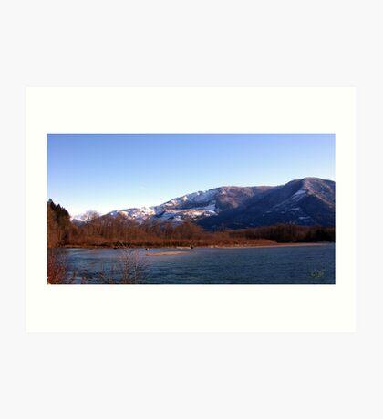 Cascade Mountain Landscape Six Art Print