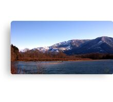 Cascade Mountain Landscape Six Canvas Print