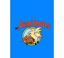 Angry Beavers Photographic Print