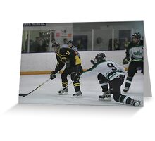 College hockey Greeting Card