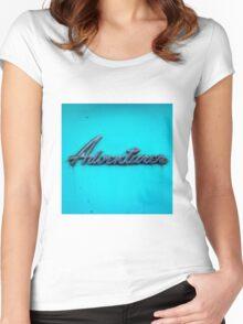 Adventurer. Women's Fitted Scoop T-Shirt