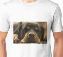 Sleeping dogs lie Unisex T-Shirt