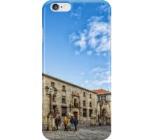Cathedral Square in Avila iPhone Case/Skin