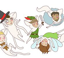 peter pan weird cats by wade-ebooks