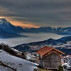 Blanket of Mist by Stefan Trenker