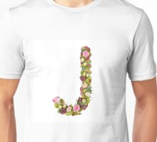 Capital Letter J Part of a set of letters, Numbers and symbols  Unisex T-Shirt