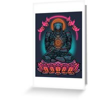 Drift Into Enlightenment Greeting Card