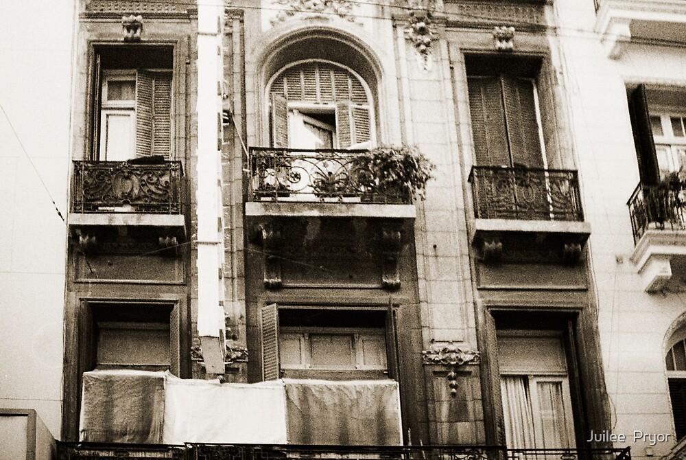 Balconies Lomo Argentina by Juilee  Pryor