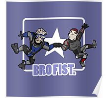 Bro's 4 life - Mass Effect Poster