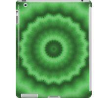 Coniferous Green Magic Mandala iPad Case/Skin
