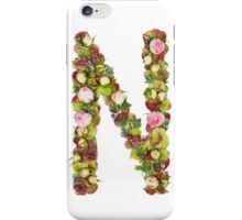 Capital Letter N Part of a set of letters, Numbers and symbols iPhone Case/Skin