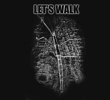 Let's Walk - Products and Prints from Original Art Unisex T-Shirt