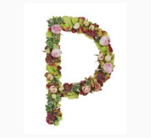 Capital Letter P Part of a set of letters, Numbers and symbols Baby Tee