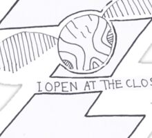 Harry Potter - I open at the close Sticker