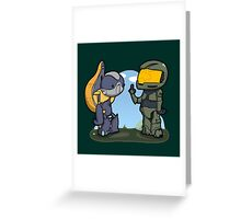Poor missunderstood grunt... Greeting Card