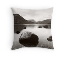 Ullswater: looking towards Glenridding and Helvellyn Throw Pillow