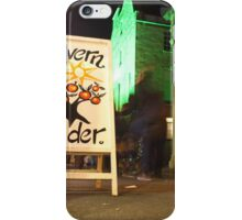 Low Light at Baths Christmas market iPhone Case/Skin