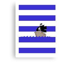 Pirate Stripes Canvas Print