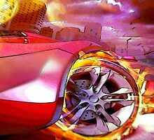 Flaming Wheels by Oscar30694