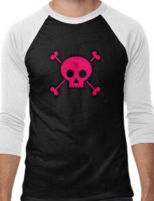 Punk Skull Men's Baseball ¾ T-Shirt