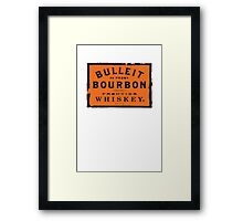 Bulleit Bourbon Framed Print