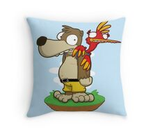 Banjer & Kazooper! Throw Pillow