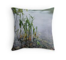 Ullswater Reeds Throw Pillow