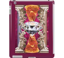 Rape of the Sabine Pizza iPad Case/Skin