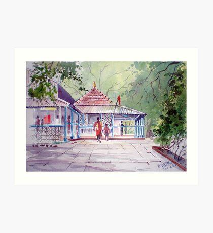Jangali Maharaj Temple, pune Art Print