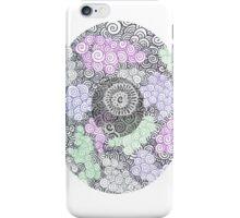Swirling Circle iPhone Case/Skin