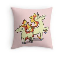 Number 77 and 78 Throw Pillow