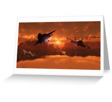 Montagnes / Mountains Greeting Card