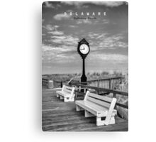 Bethany Beach Delaware. Canvas Print