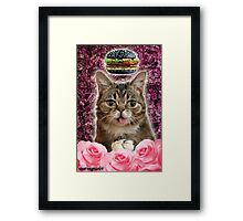 Burger BB Bub Framed Print