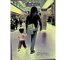 DADDY Photographic Print