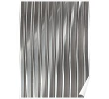 Corrugated Chrome #2 Poster