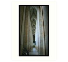 Guildford Cathedral Art Print