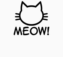 Meow Cat Womens Fitted T-Shirt