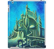 Mysterious Fathoms Below (New BG) iPad Case/Skin