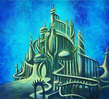 Mysterious Fathoms Below (New BG) by Kimberly Castello