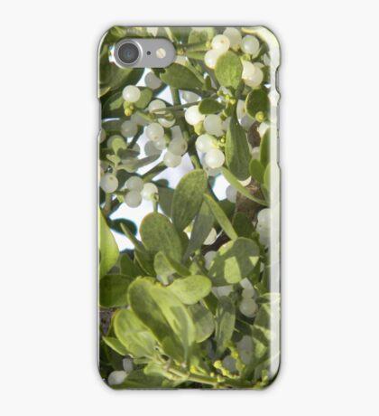Mistletoe With Berries iPhone Case/Skin